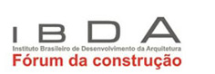Logotipo do IBDA - F�rum da Constru��o