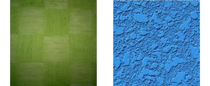 textura tipos imagem visual